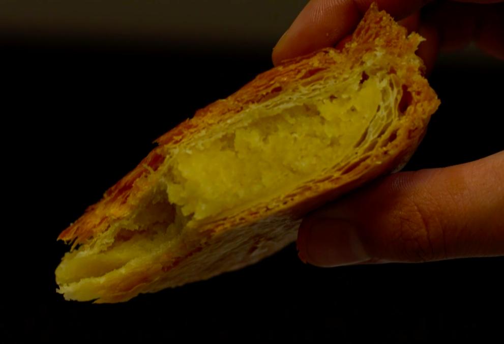 Crème d'amande et frangipane